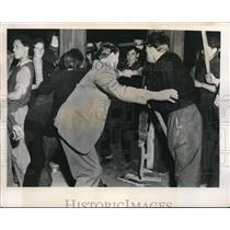 1949 Press Photo Two More Slain in Berlin Rail Strike Riots - nee01554