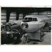 1968 Press Photo Boeing B-29 Enola Gay & Convair 240 Caroline at museum