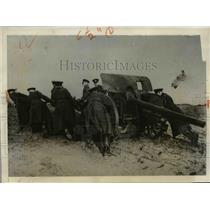 1931 Press Photo Juterbog Artillery Training School in Germany - nee03696