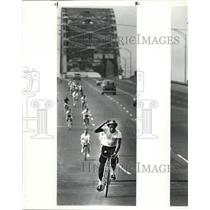 1985 Press Photo Bike-a-thon