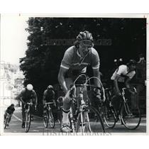 1974 Press Photo Bicycles and Bicyclists