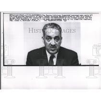 1962 Press Photo Judge Thurgood Marshall  - nee04834
