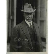 1924 Press Photo Samuel H Prescott Representative - nee05957