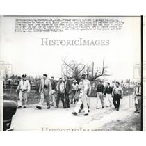 1958 Press Photo Clarence Kelly Former Mental Patient Held 50 Officers at Bay
