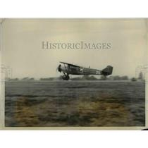 1928 Press Photo of the second attempt by N.B. Maner to fly from Los Angeles to