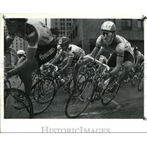 1990 Press Photo The riders at the Mens Pro 1 and 2 division round at their race