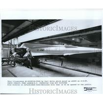 1989 Press Photo The BC missile
