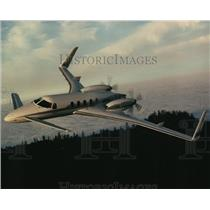 1991 Press Photo Airplanes Starship