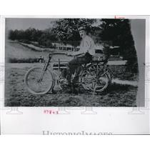 1968 Press Photo The historical bicycle