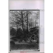 1905 Press Photo Spring Drive to Upper Boulevard Near Gordon Park