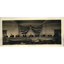 1920 Vintage Press Photo Interstate Commerce Commission session
