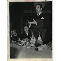 1942 Press Photo Ezequiel Padilla Foreign Minister - nee10583