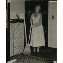 1926 Press Photo Alice Bunch of LA Calif queen of boarding house beauties