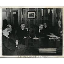 1941 Press Photo Australian Prime Minister RG Menzies & Canada's Cabinet War Com
