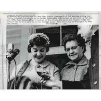 1962 Press Photo Wife of U2 Pilot Francis Gary Powers,at Home in Georgia