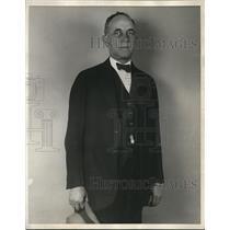 1926 Press Photo William J Bergen former police Paterson NJ - nee09857