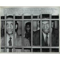 1962 Press Photo Winston Henry Lockett, Alfred David Jones Jr, 30 day jail term