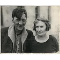 1925 Press Photo Thomas McQuade & Elizabeth Hunter