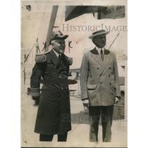 1920 Press Photo Admiral William D. Pratt Took COmmand of the U.S Battle Fleet