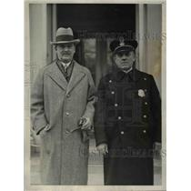 1928 Press Photo Colonel Osmun Latrobe, Sergeant Clarence Dalrymple - nee06054