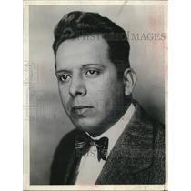 1943 Press Photo E. Padille of Mexico - nee10584