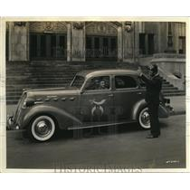 1937 Photo Moslem Temple Shrine Band gets new Graham Supercharger sedan
