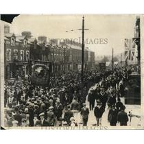 1930 Vintage Press Photo 240th anniversary of Battle of Boyne parade