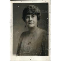 1929 Press Photo Mrs Gann Sister to Vice President Curtis - nee11017