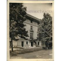 1926 Press Photo Bulgarian Legation in Washington, Minister of Bulgaria Radeff