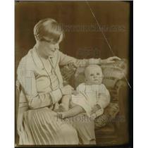 1929 Press Photo Mrs. Josephine Green Conrad - nee15523