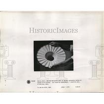 1941 Press Photo Street Light Reflector of Laminated Textolite General Electric