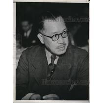 1938 Press Photo Major General Syoro Maceba Retired Japanese Officer in San Fran
