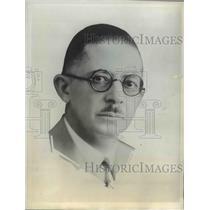 1942 Press Photo John B Powell Former Correspondent Chicago Paper & Editor