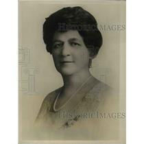 1926 Press Photo Bina M West Pres of Natl Fraternal Congress at NY - nee16314