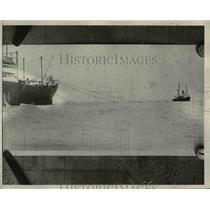 1924 Press Photo Ship S.S. President Monroe, Renamed President Buchanan, Florida