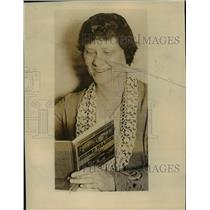 1926 Press Photo Jackie Coogann's teacher Mewell Kora  - nee12321