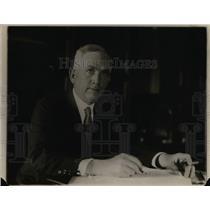 1920 Press Photo Norman Davis, newest appointed State Undersecretary