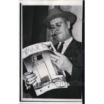 1958 Press Photo Atlanta Ga Ku Klux Klans E L Edwards  - nee11147