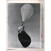 1984 Press Photo Balloonist Tracy Barnes