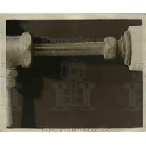 1942 Press Photo Glass Plumbing Tubing - nee12599