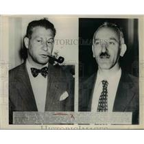 1948 Press Photo Lee Pressman active campaign worker for Wallace Party