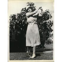 1933 Press Photo Miami Biltmore country club course Coral Gables, FL - nee10847