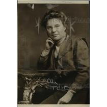 1922 Press Photo Helen L. Sumner, Author & Chief of Children's Bureau Dept Labor