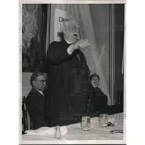 1936 Press Photo George Lansbury British & Christian Socialist  - nee13158