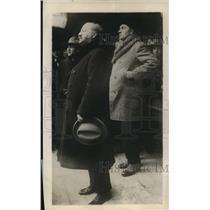 1929 Press Photo M M Ponovici Speaks to Political Demonstrators in Bucharest