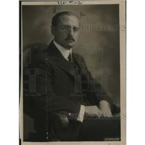 1919 Press Photo Hon Francis Tudela new Amb from Peru to the US