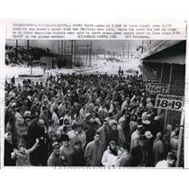 1959 Press Photo A crowd at the Brave's opener with the Phillies - nee13687