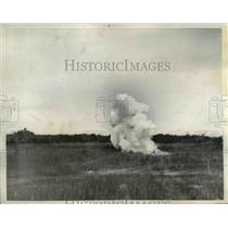 1937 Press Photo The Army Chemical Warfare Service at Edgewood Arsenal Maryland