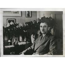 1935 Press Photo German Leader Schulraz Meyer - nee19635