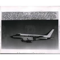 1959 Press Photo Plane Built by McDonnell Aircraft Corporation for Air Force